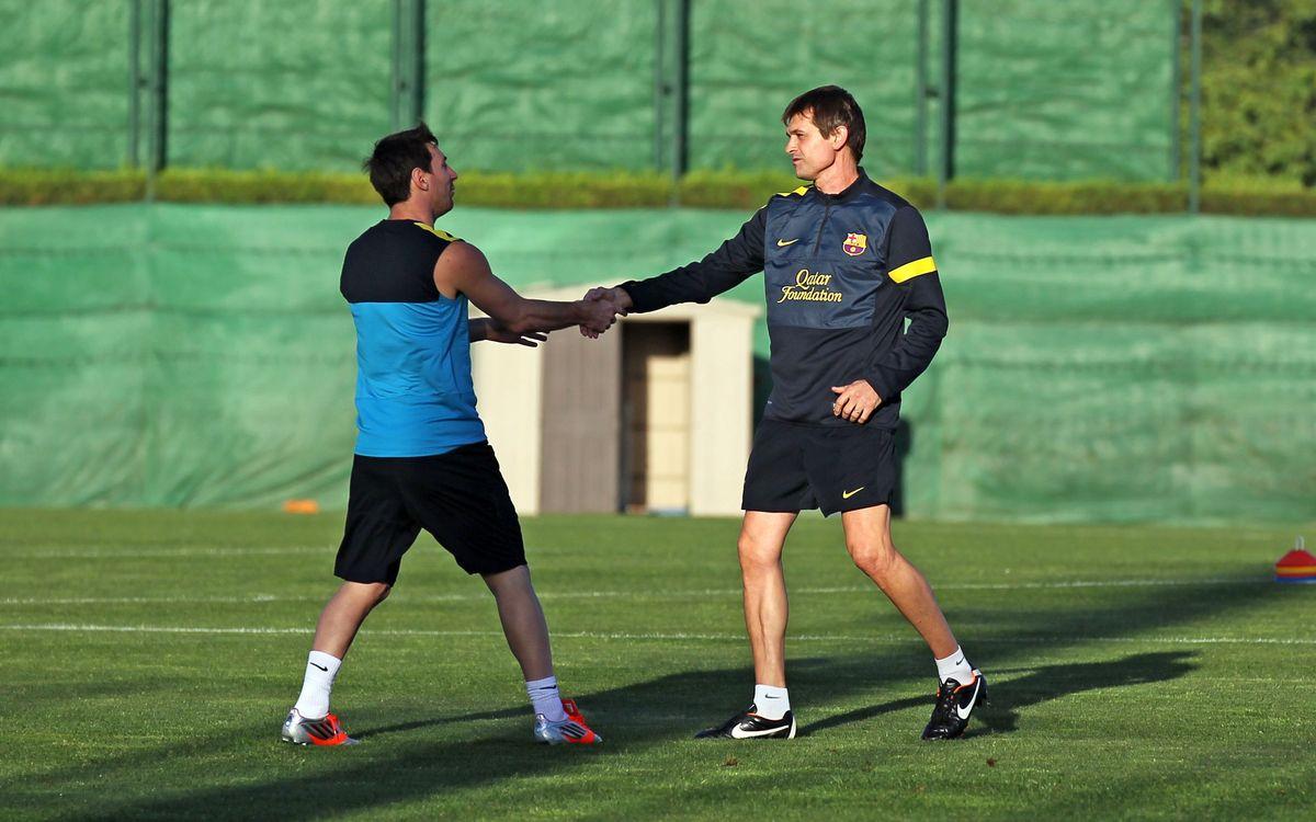 Tornen Messi i Mascherano