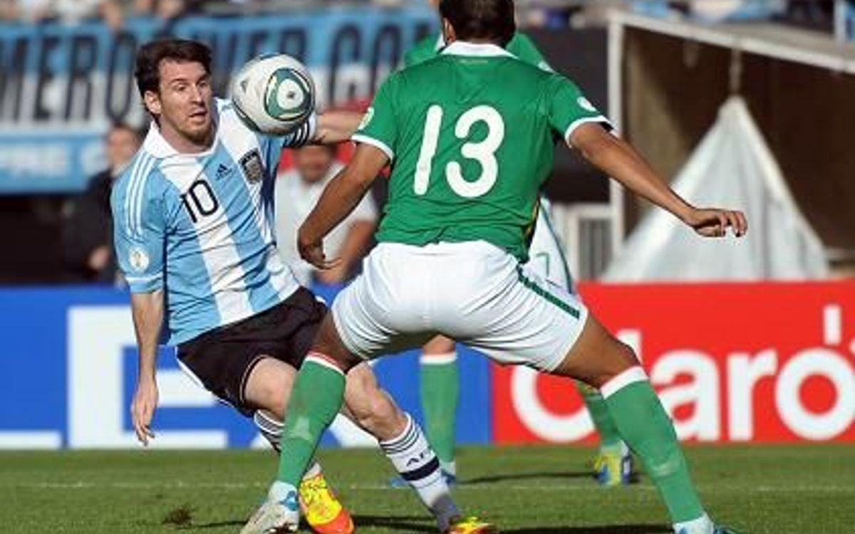 Una gris Argentina no pasa del empate ante Bolívia (1-1)