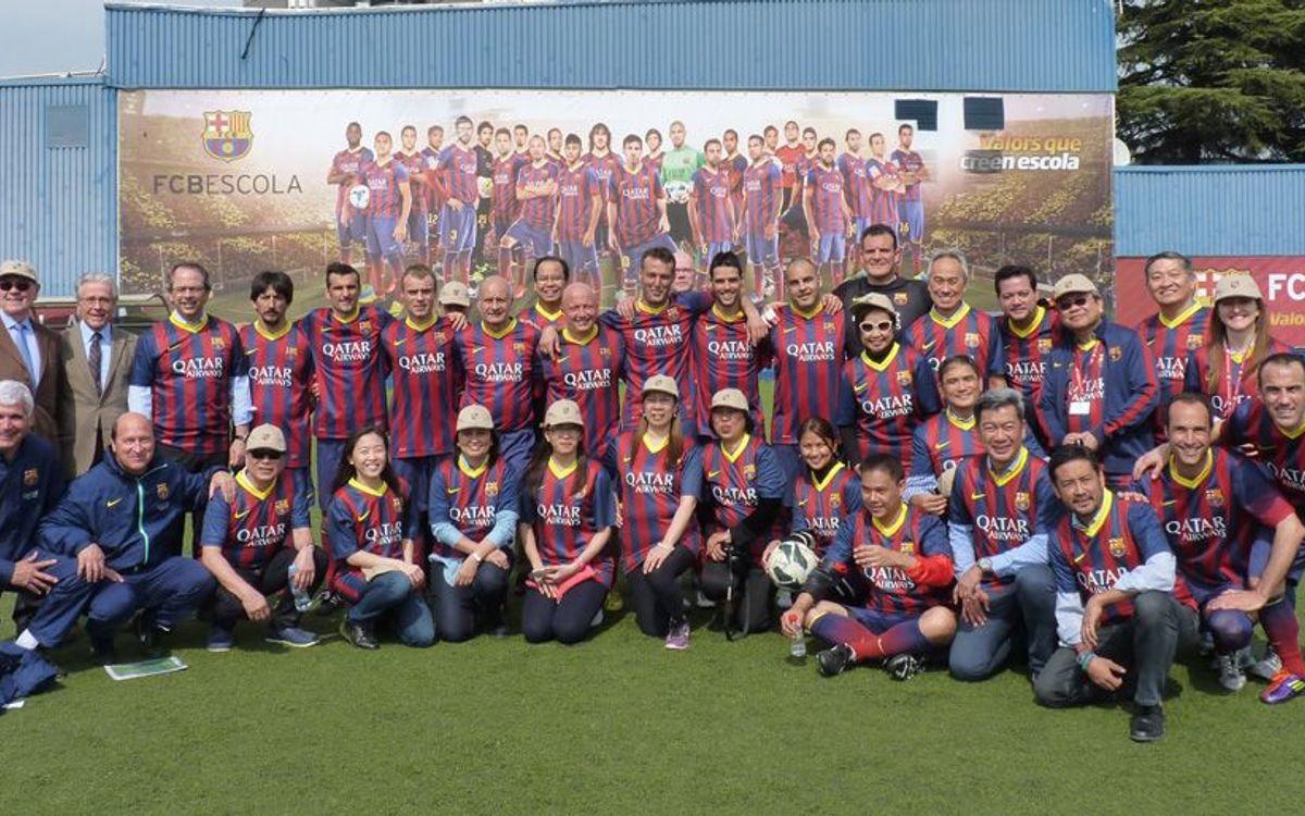 Els valors dels exjugadors del Barça, cap a l'empresa