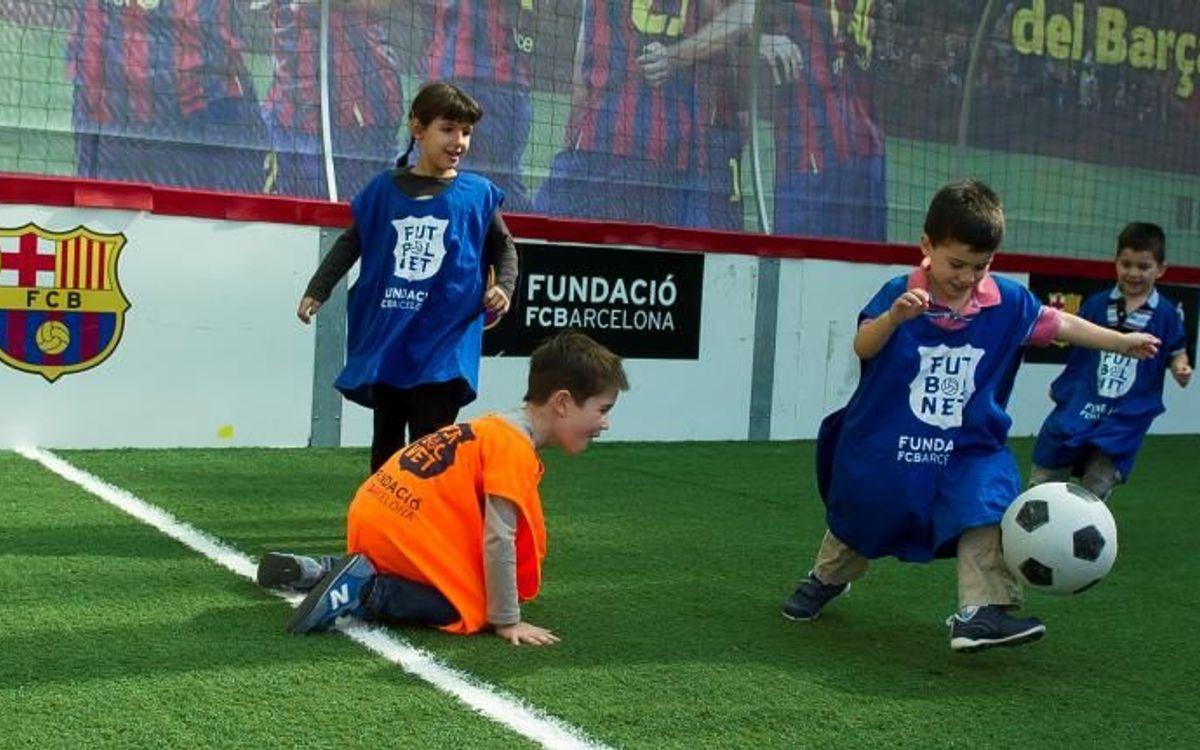 La Fundació celebra divendres el festival FutbolNet