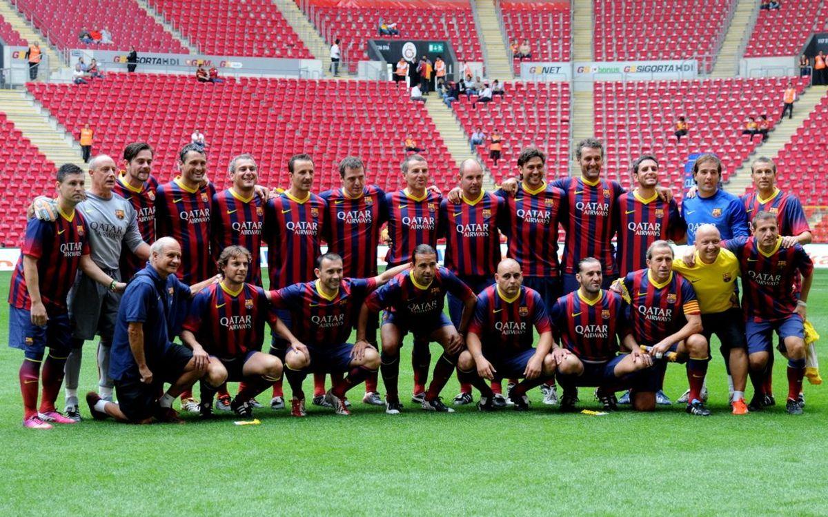 Partit amb els veterans del Galatasaray