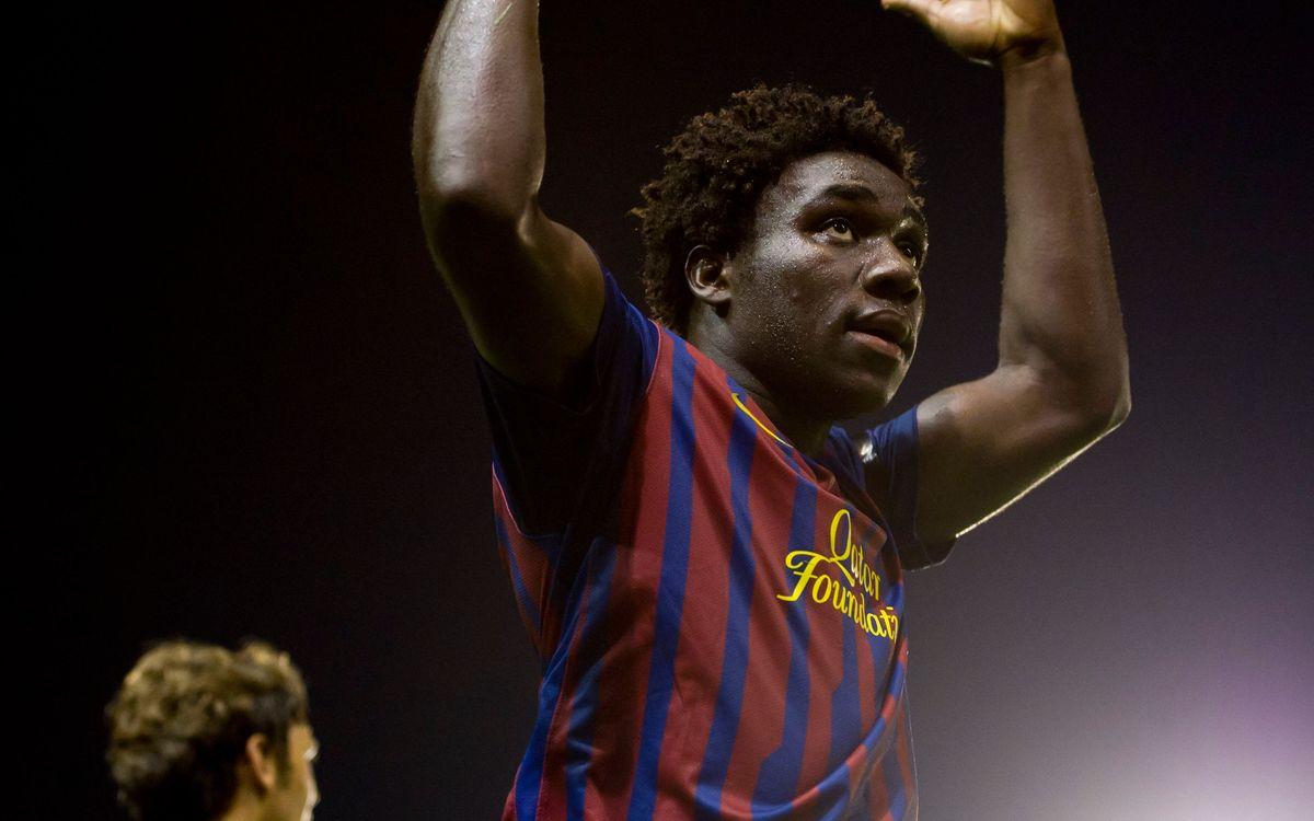 Barça - Nástic: el Juvenil A se trabaja el liderato (2-0)