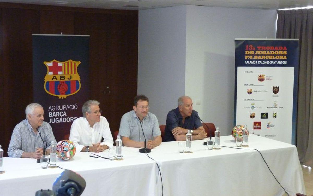 Calonge i Palamós, a punt per la Trobada de Jugadors del FC Barcelona