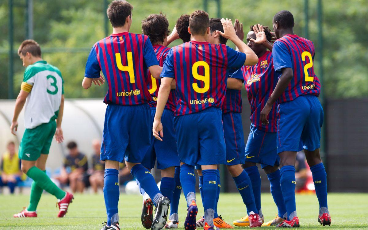 Remuntada i victòria per al Juvenil B en l'inici oficial de la temporada (6-3)