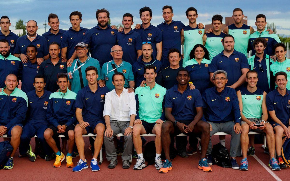 Segundo y tercer lugar en el Campeonato de España de Atletismo de División de Honor