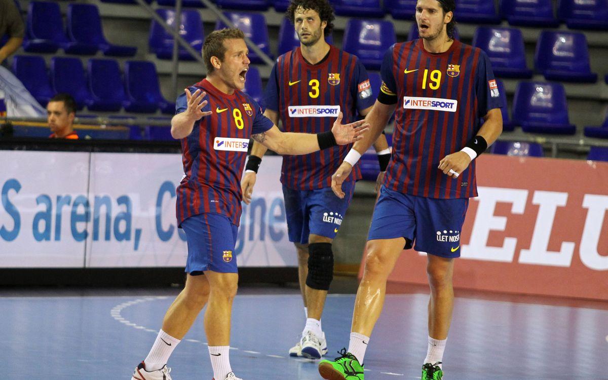 El Barça busca en Sarajevo continuar como líder del Grupo A de la EHF Champions League