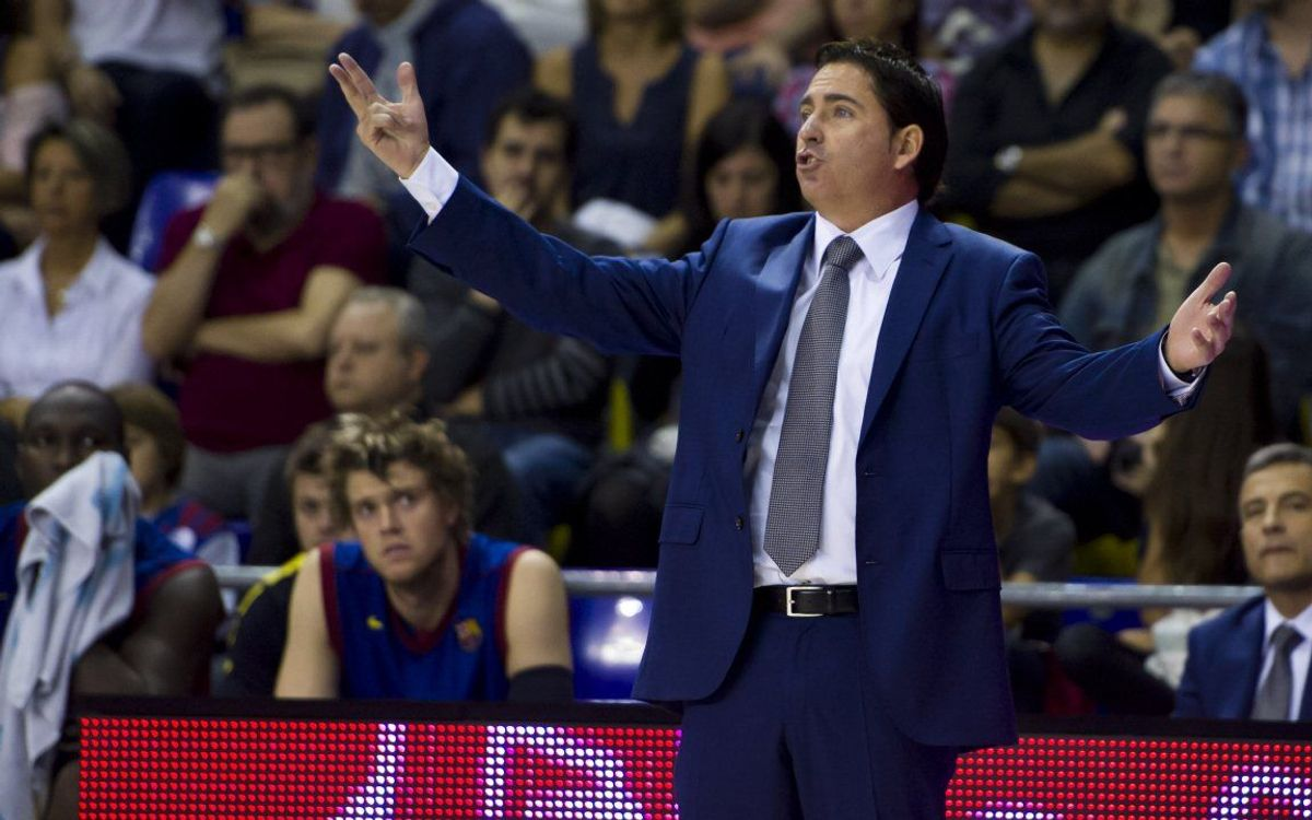 "Xavi Pascual: ""Un equip gran no pot deixar mai de defensar"""