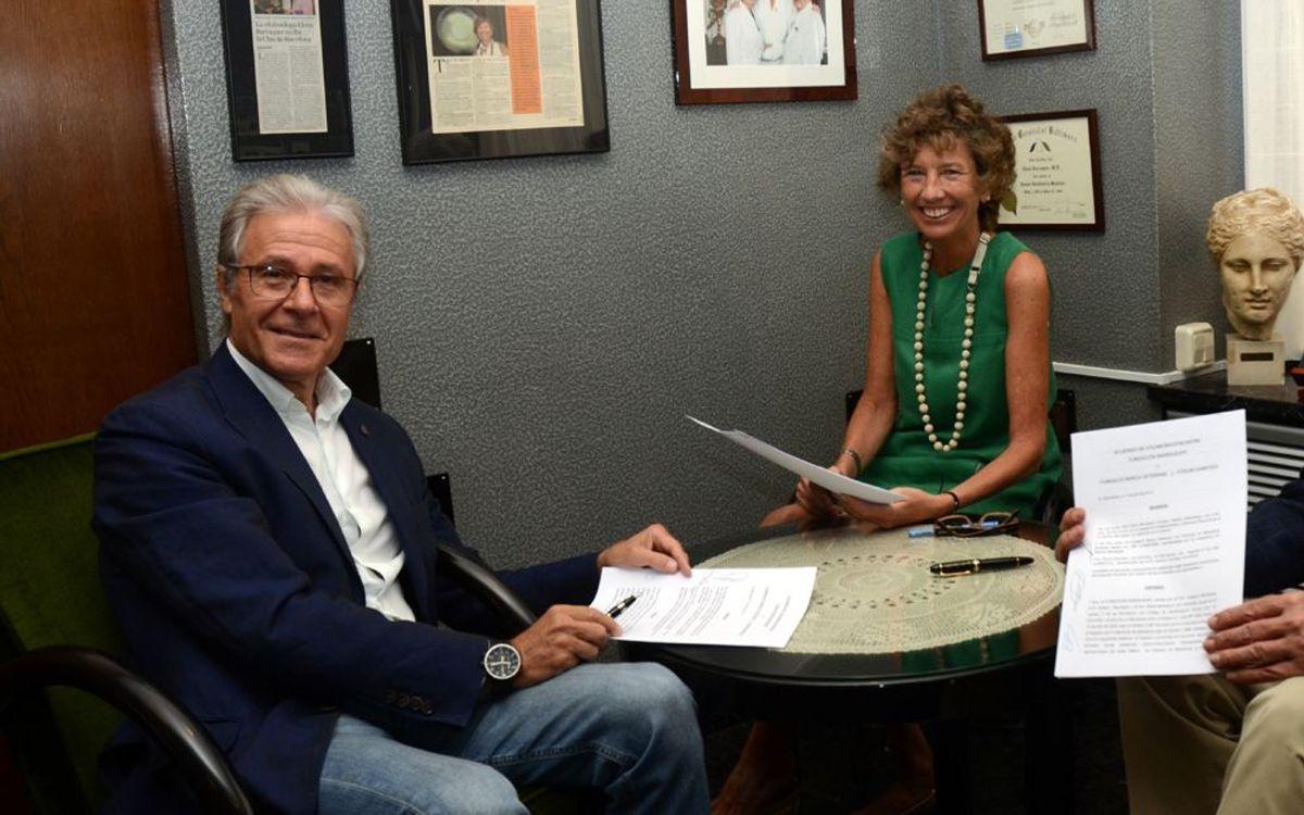 Acord amb la Fundació Barraquer