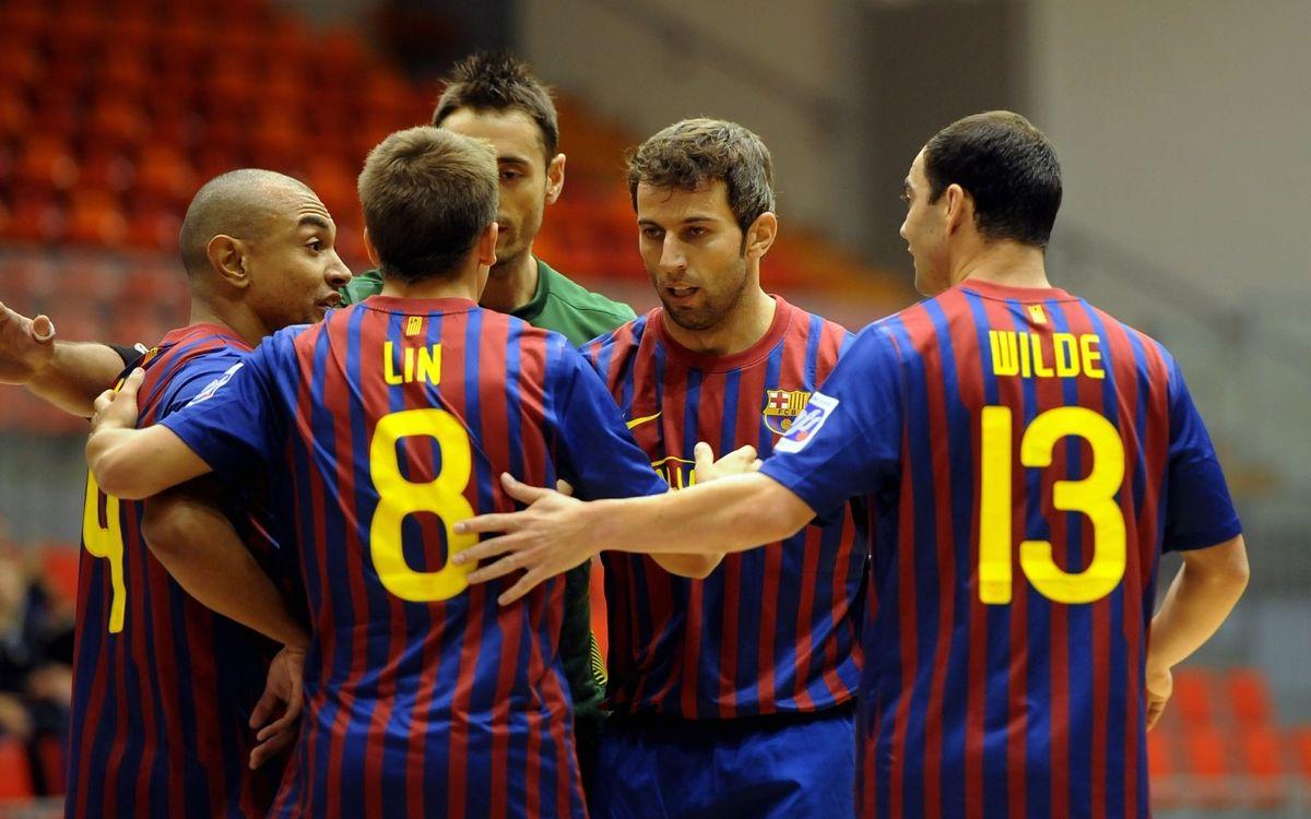 Los rivales del Barça Alusport, en la UEFA Futsal Cup, son equipos con gran potencial