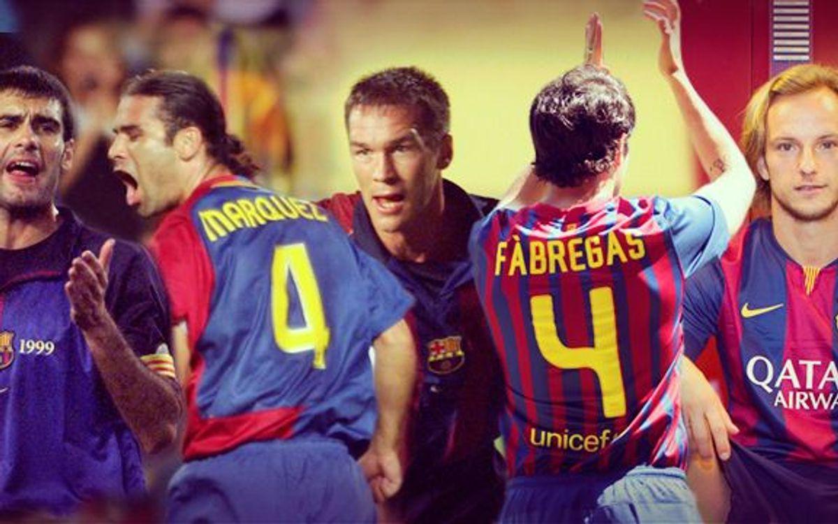 Ivan Rakitic, el quinto '4' del Barça