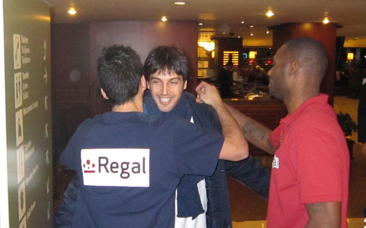 El Barça Regal se reencuentra por sorpresa con Basile y Marconato en Estambul