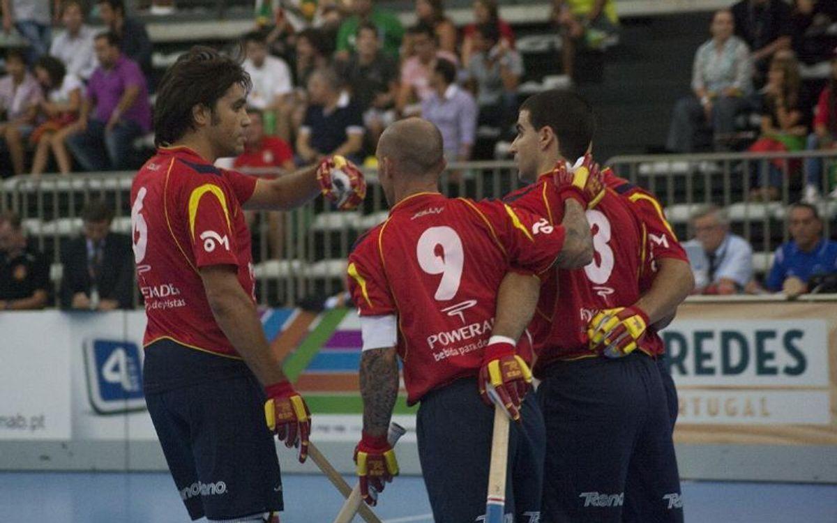 Espanya supera Anglaterra per un contundent 21-1