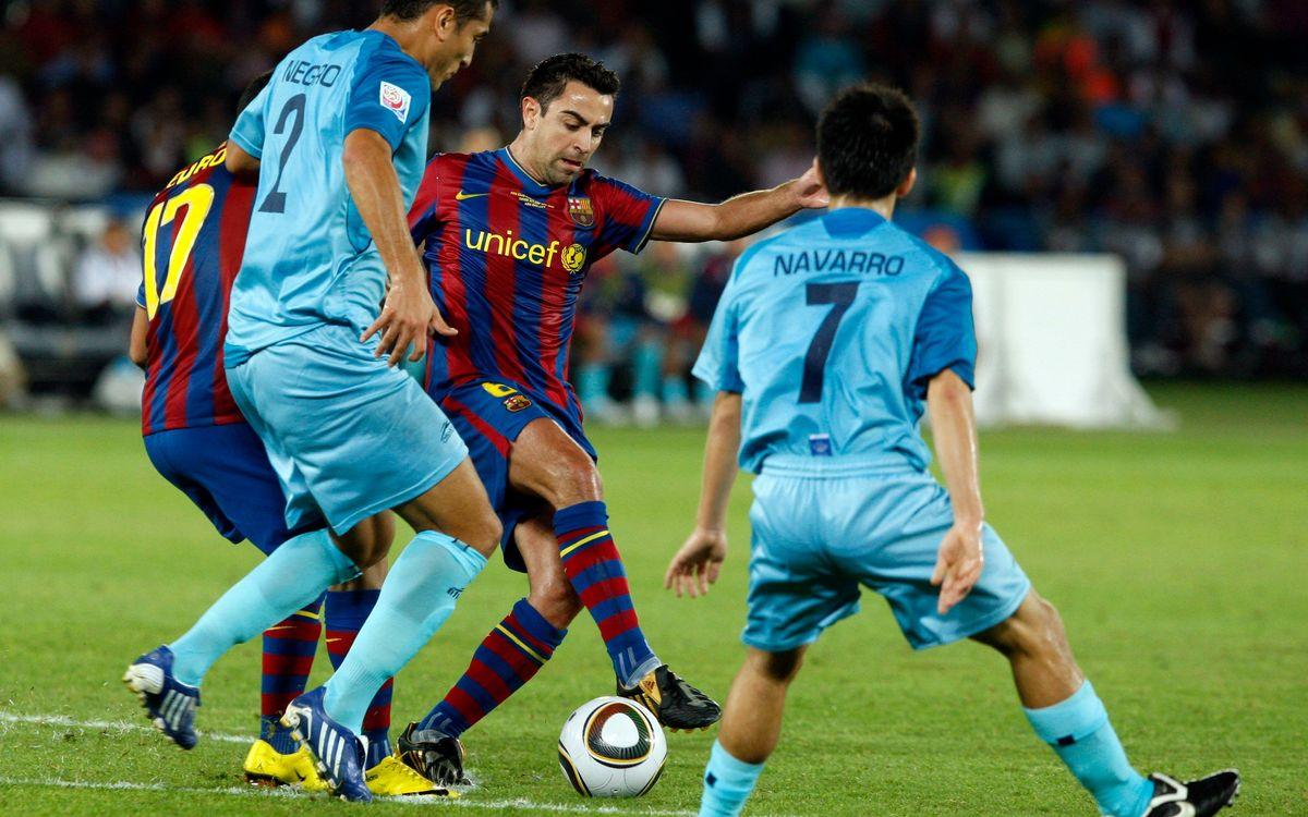El FC Barcelona sólo conoce la victoria en los partidos de semifinales del Mundial de Clubes