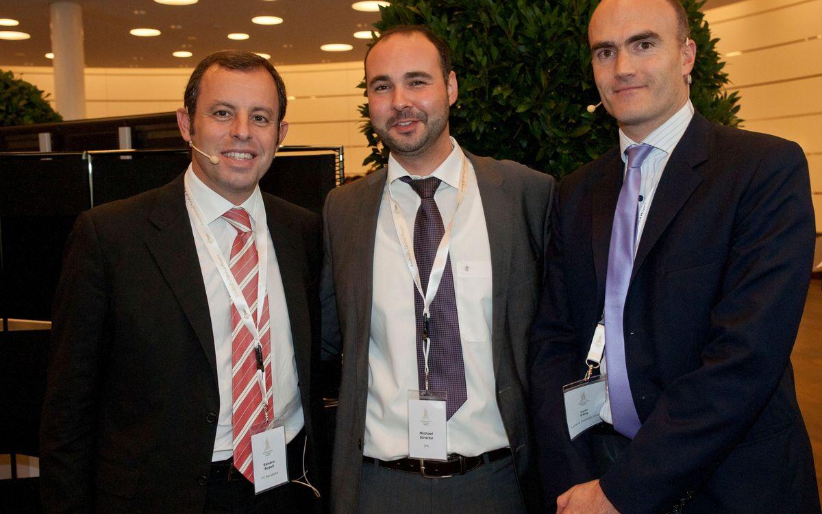 Rosell propone reduir la Lliga española a 16 equipos