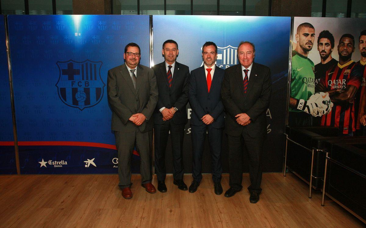 La Fundació FCB i el Col·legi d'Infermeres de Barcelona estableixen un acord de col·laboració