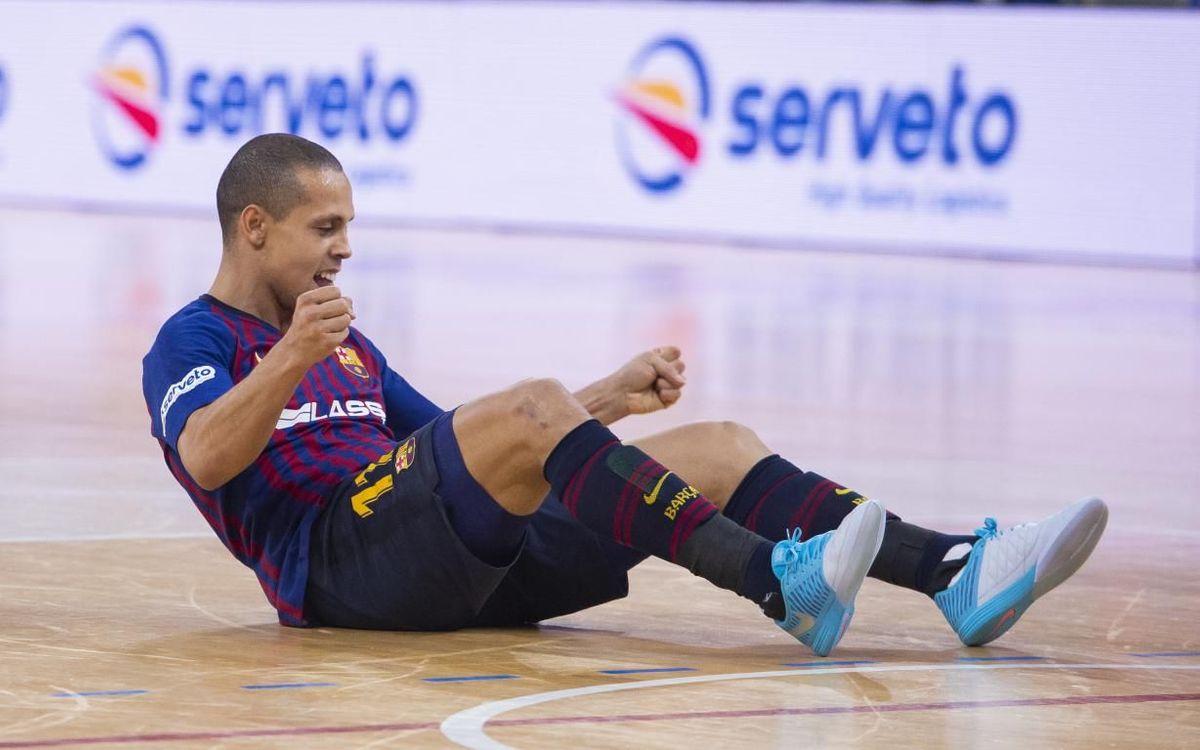Ferrao supera los 40 goles por tercera temporada consecutiva