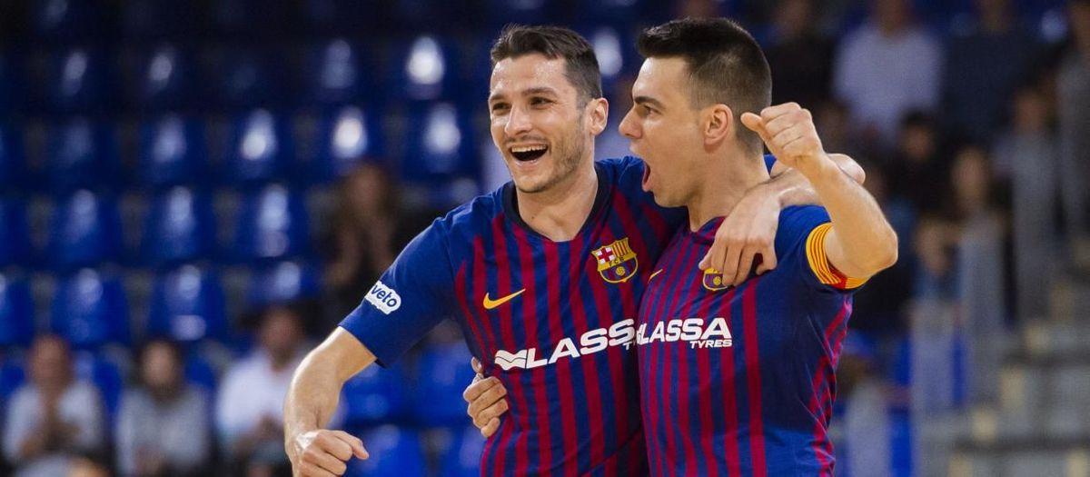 Barça Lassa beat Valdepeñas 5-1 to close regular league season