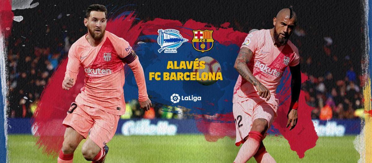 Cuándo y dónde ver el Alavés - Barça