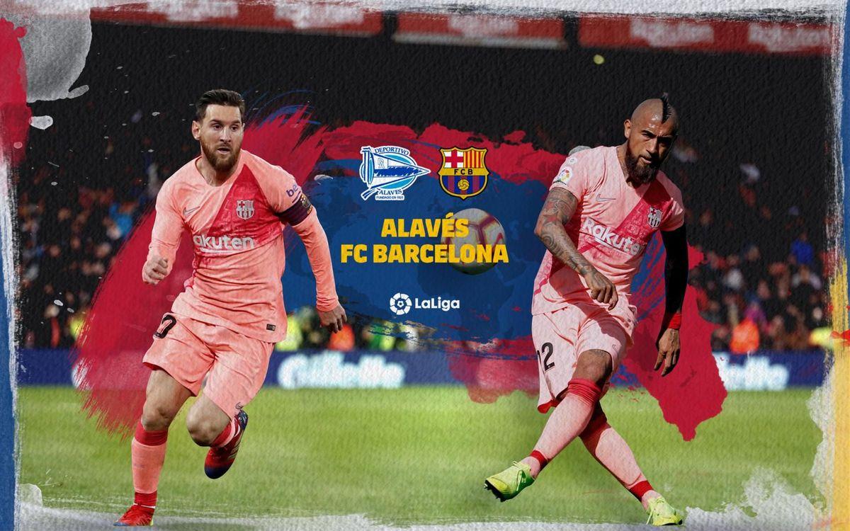 Où et quand voir Alavés - Barça