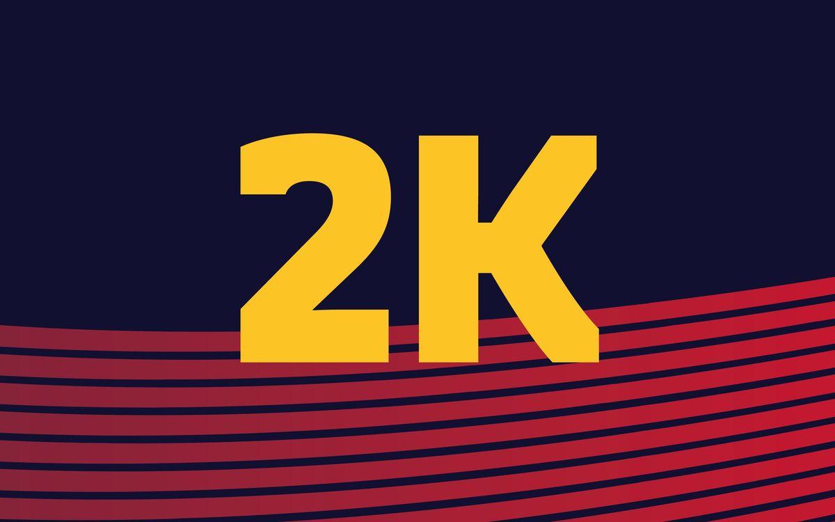 La Carrera 2k, la vertiente inclusiva de la Cursa Barça CaixaBank 2019