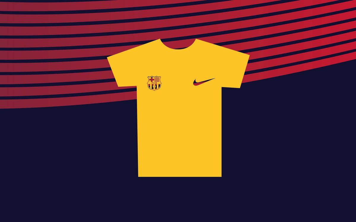 La camiseta de la Cursa Barça CaixaBank 2019