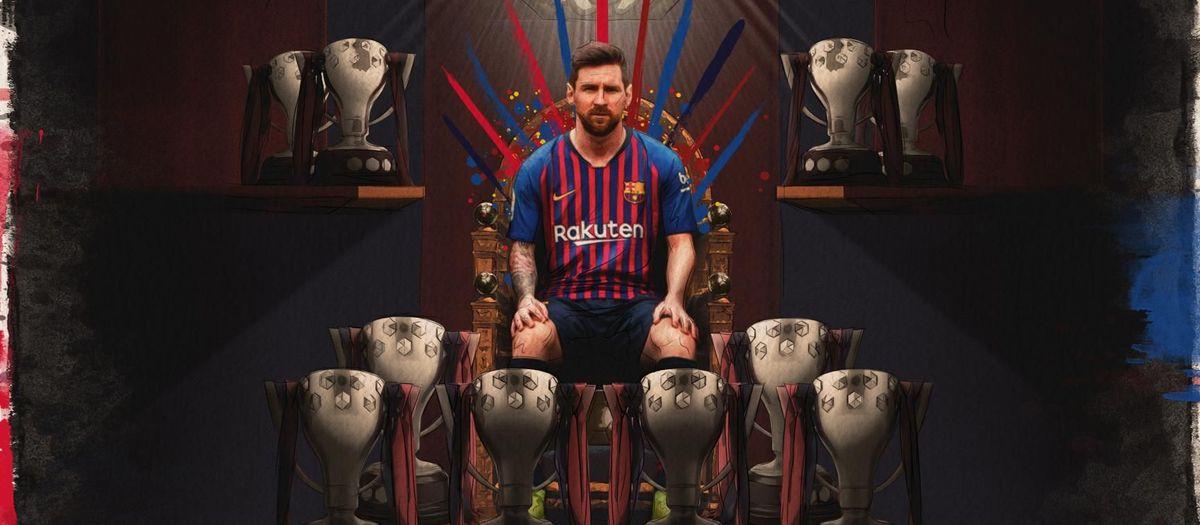 Messi: la 10ª Liga del '10'