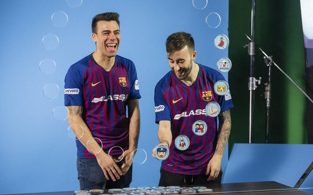 Barça Emojis: Sergio Lozano y Mario Rivillos
