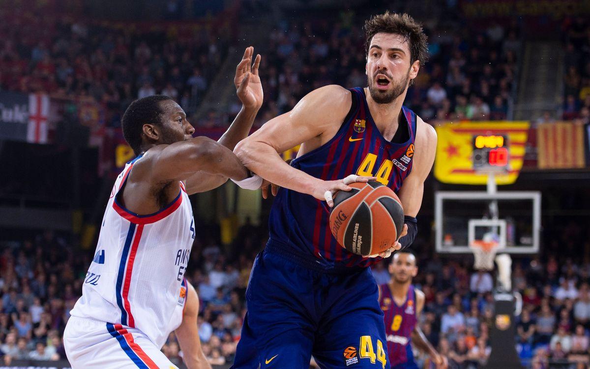Barça Lassa - Anadolu Efes: Objectiu forçar el 5è partit