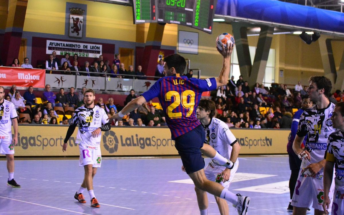 Ademar León 30-32 Barça Lassa: Competitive as ever