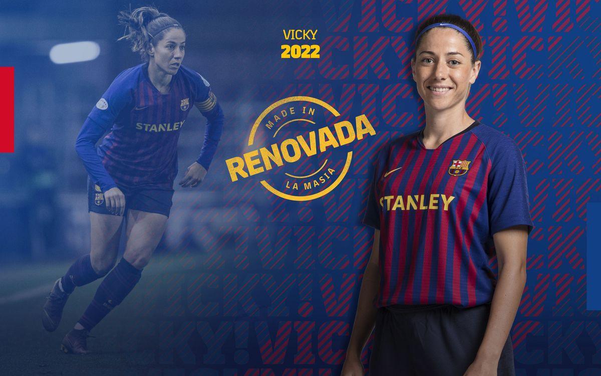 Acuerdo para la renovación del contrato de Vicky Losada