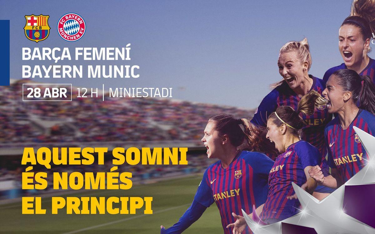 FC Barcelona - Bayern Múnich (previa): Seremos nosotras