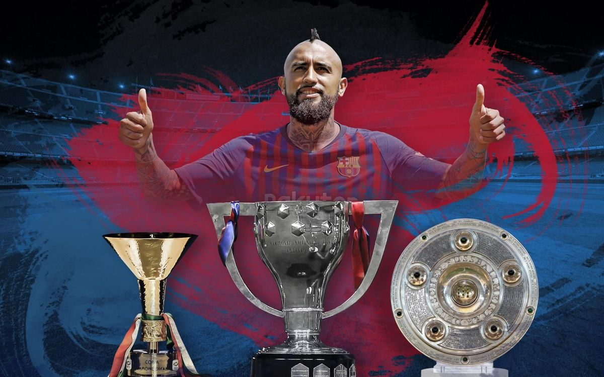 Arturo Vidal, the king of back-to-back league titles