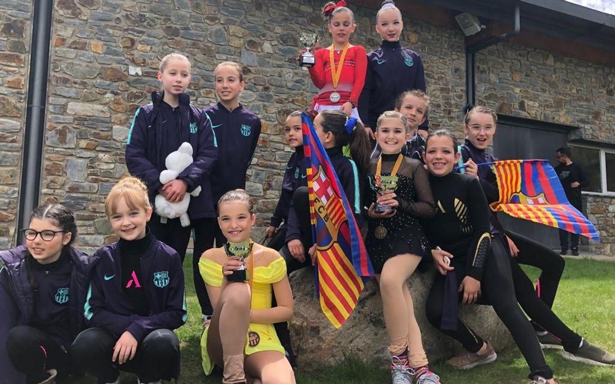 El Barça triunfa en el Campeonato de Catalunya de patinaje