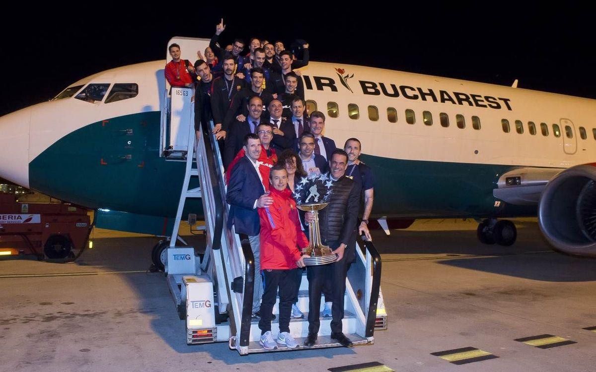 ¡Viaja con el Barça Lassa a la Final Four de Lisboa!
