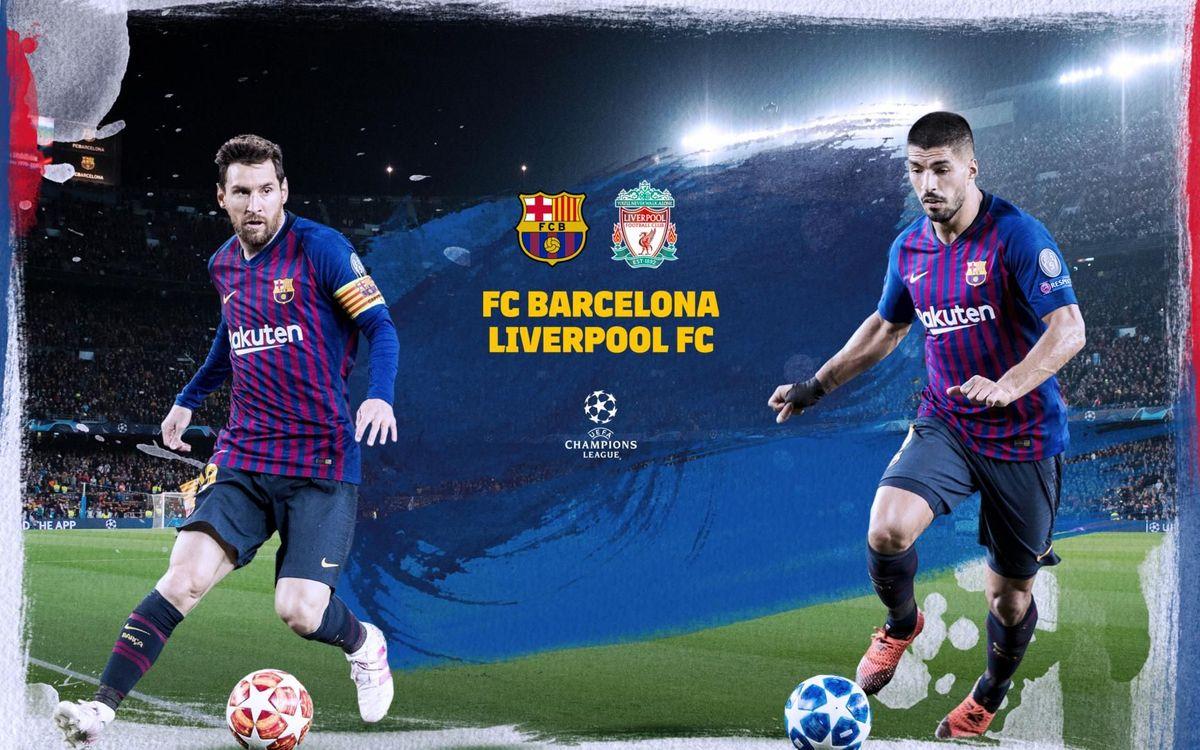 Où et quand voir FC Barcelone - Liverpool