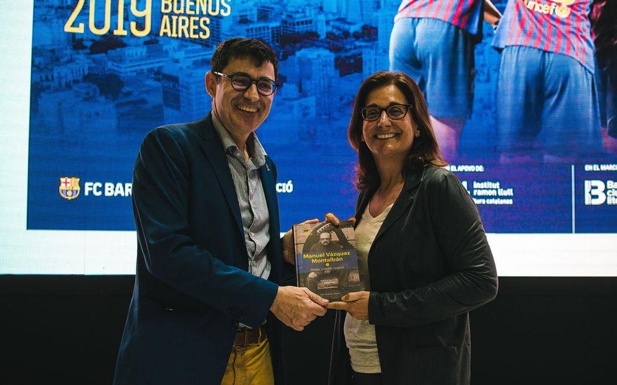 El binomi Barça-Barcelona, protagonista a la Fira Internacional del Llibre de Buenos Aires