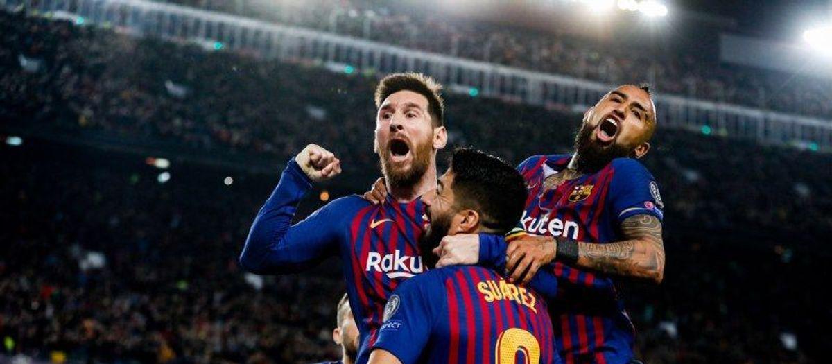 MEssi celebracion gol falta