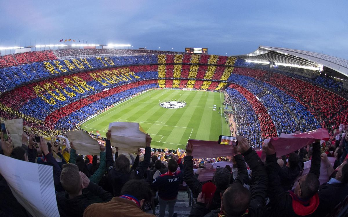 Six years unbeaten at Camp Nou in the Champions League