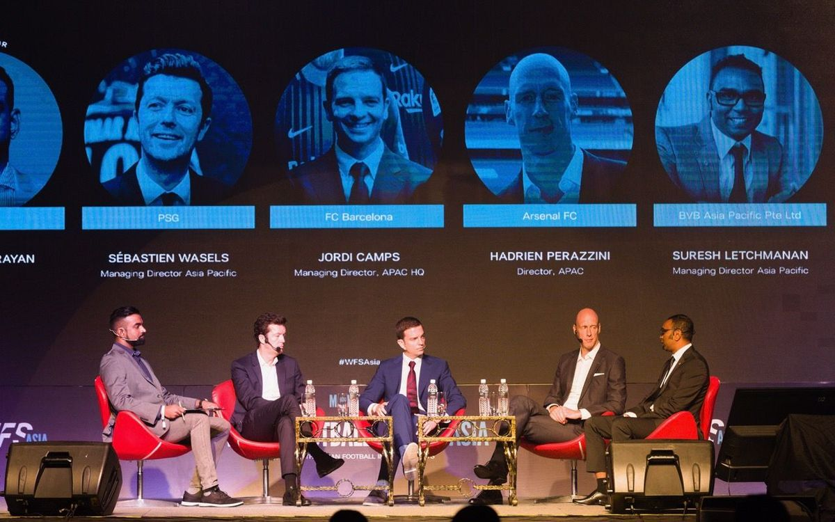 'The Barça Way', protagonista al World Football Summit de Kuala Lumpur