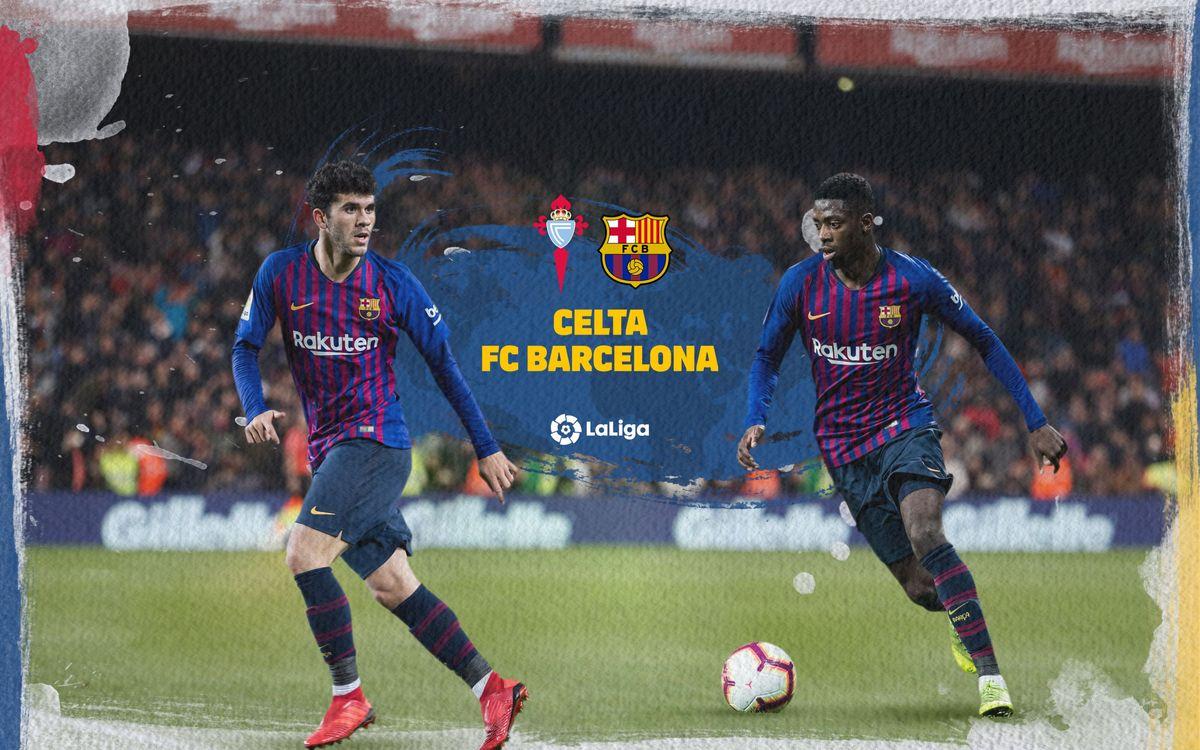 Cuándo y dónde ver el Celta-Barça