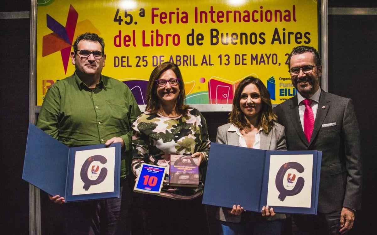 El Barça cierra la Feria Internacional del Libro de Buenos Aires con una mesa redonda dedicada a Vázquez Montalbán