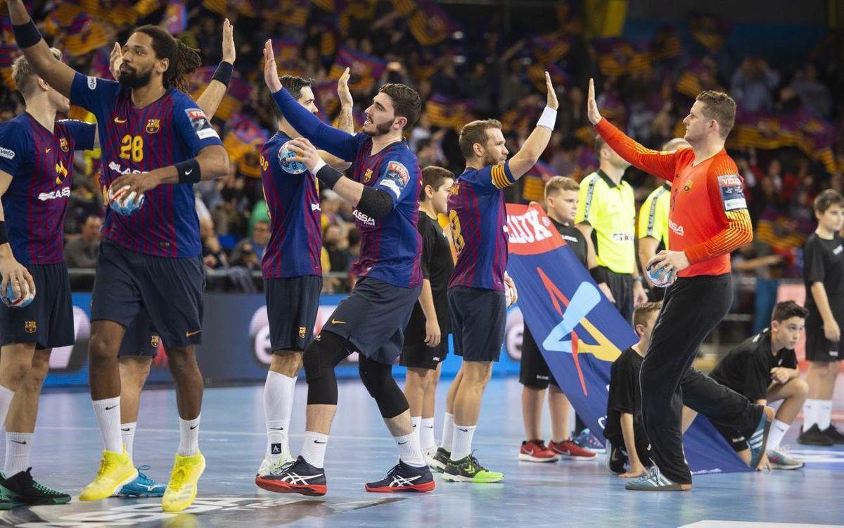 Barça Lassa – HBC Nantes: De Barcelona a Colonia sólo hay un paso
