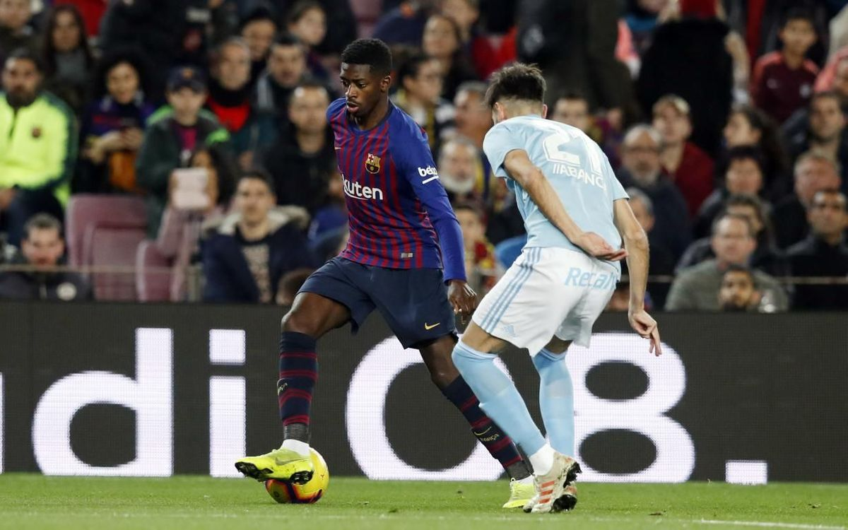 Celta - Barça: El campió encara pot augmentar els registres