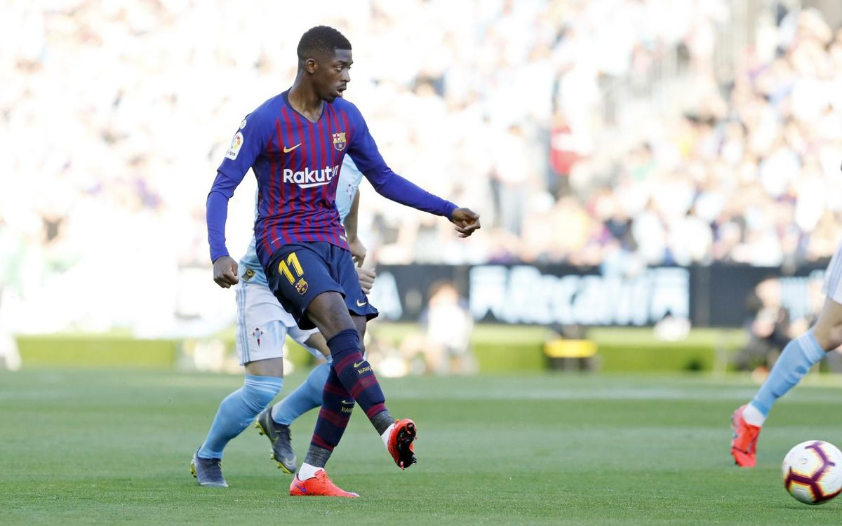 Dembélé's injury confirmed