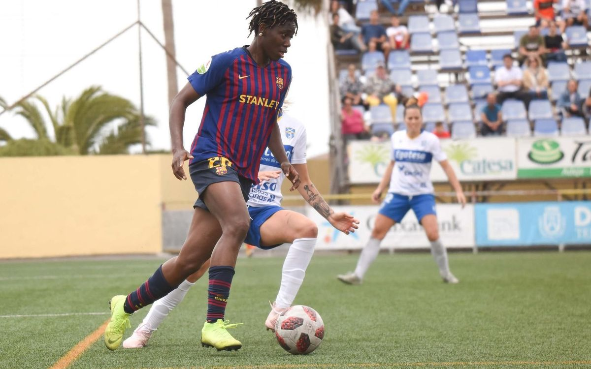 Granadilla 1–0 Barça Women: Hard work until the end