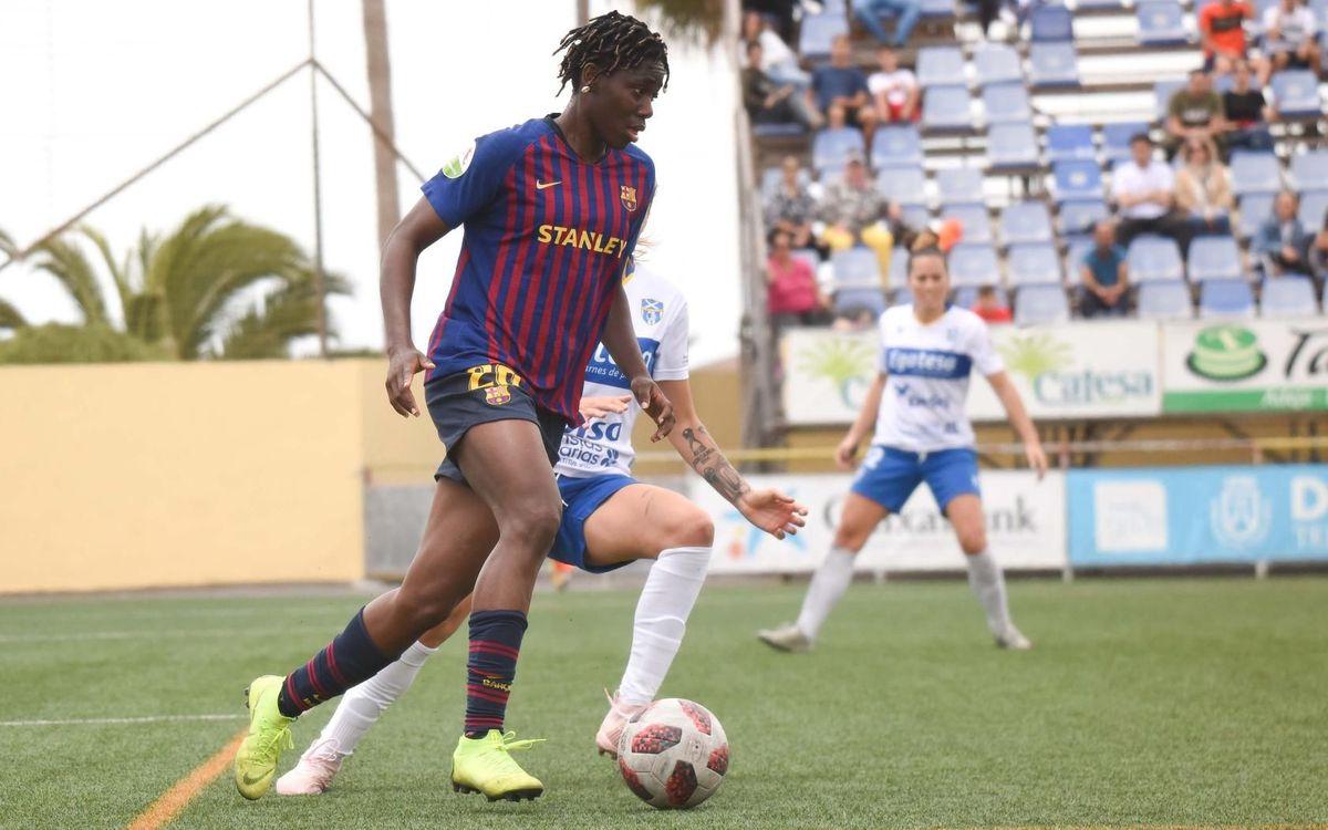 Granadilla – Barça Femení: Ho intenten fins al final (1-0)
