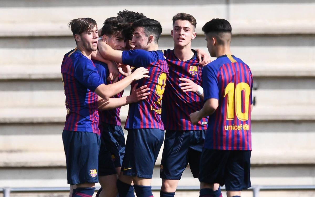Juvenil B – Escola F. Gironès-Sàbat: Victòria brillant (13-0)