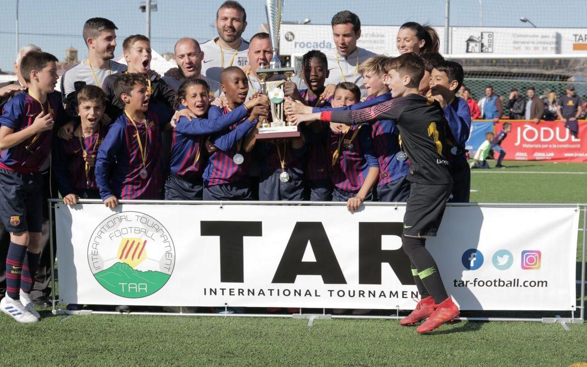 El Alevín C, campeón de la TAR CUP