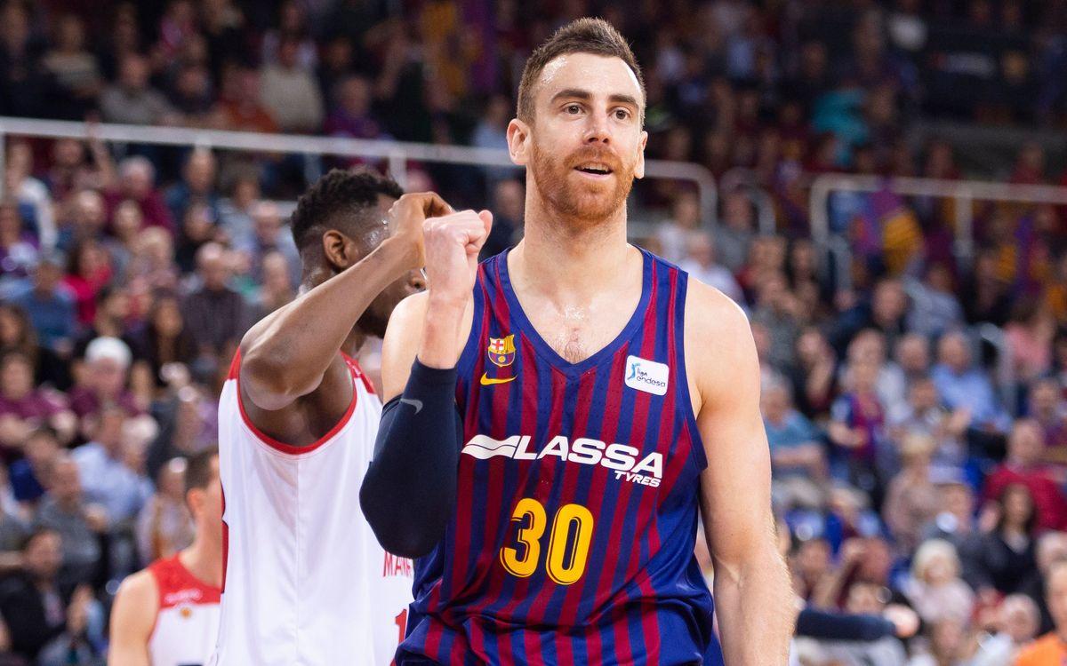 Barça Lassa - València Basket: Partit de màxima exigència al Palau