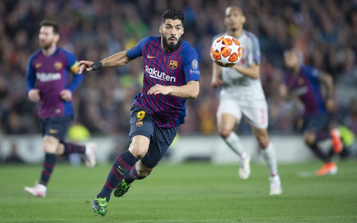 Luis Suárez out for 4-6 weeks